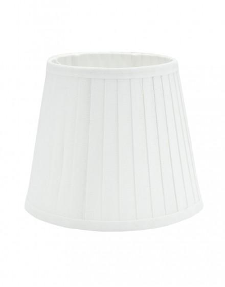 Abażur Stożek Premium Ambra Biały