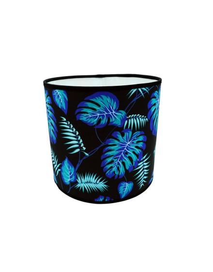 Abażur Owal PCV Tropical Niebieski