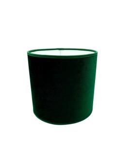Abażur Owal PCV Premium Welur Zielony