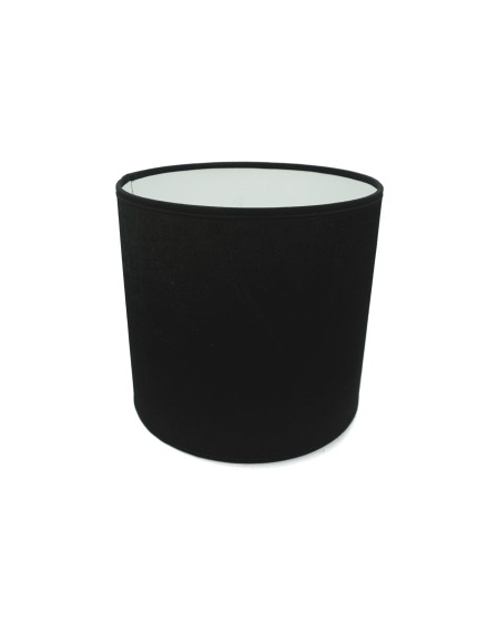 Abażur Owal PCV Premium Welur Czarny