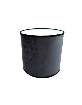 Abażur Owal PCV Premium Welur Grafitowy