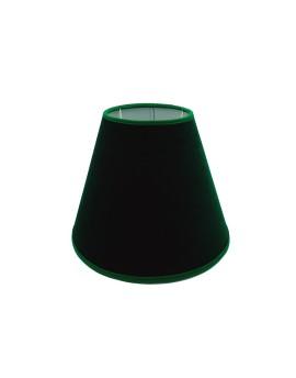 Abażur Stożek PCV Premium Welur Zielony